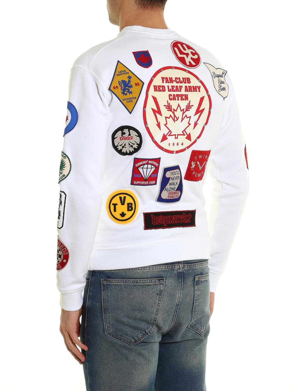 iKRIX DSQUARED2  Sweatshirts   Pulls - Sweat-Shirts Et Pulls Blanc 2659493dcc3