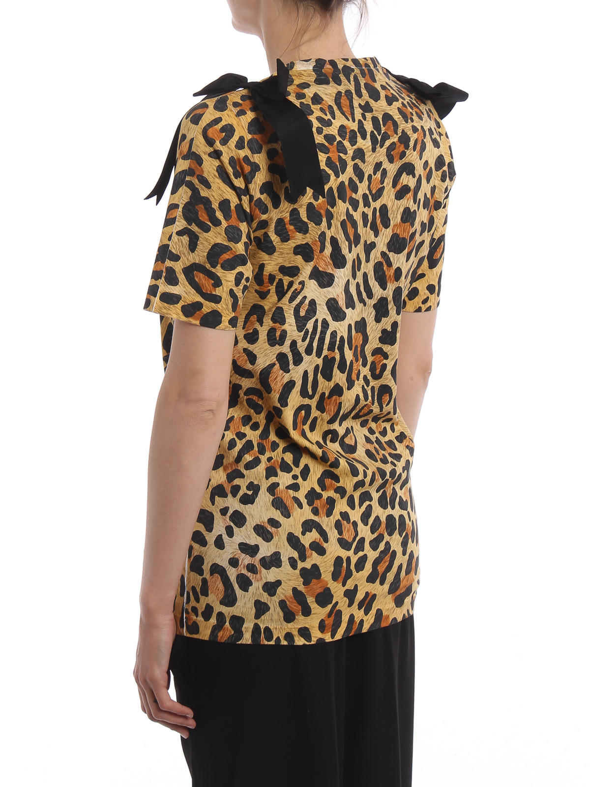 Dsquared2 Con T Fiocchi Leopardata Nx80oknwp Shirt RA35q4jL