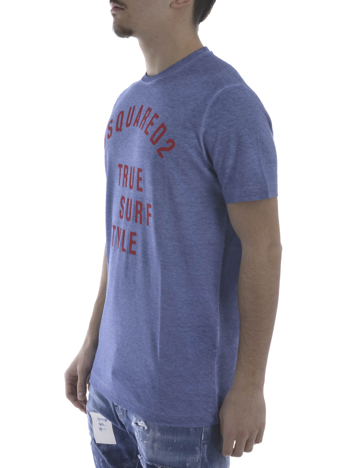 Faded look t shirt by dsquared2 t shirts ikrix for Faded color t shirts