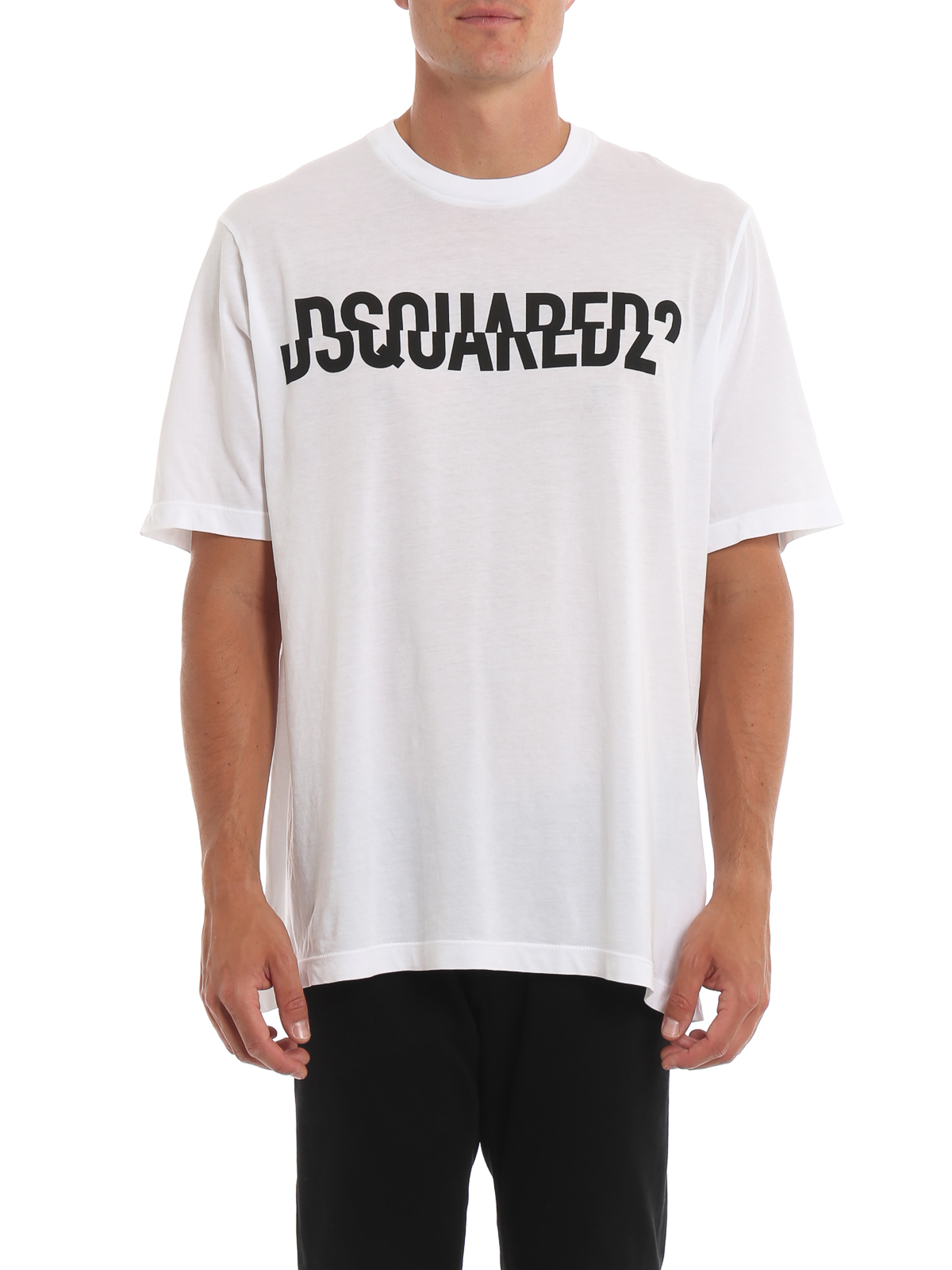 c0bf288f1 Dsquared2 - Slouch Fit cotton T-shirt - t-shirts - S74GD0572S21600100