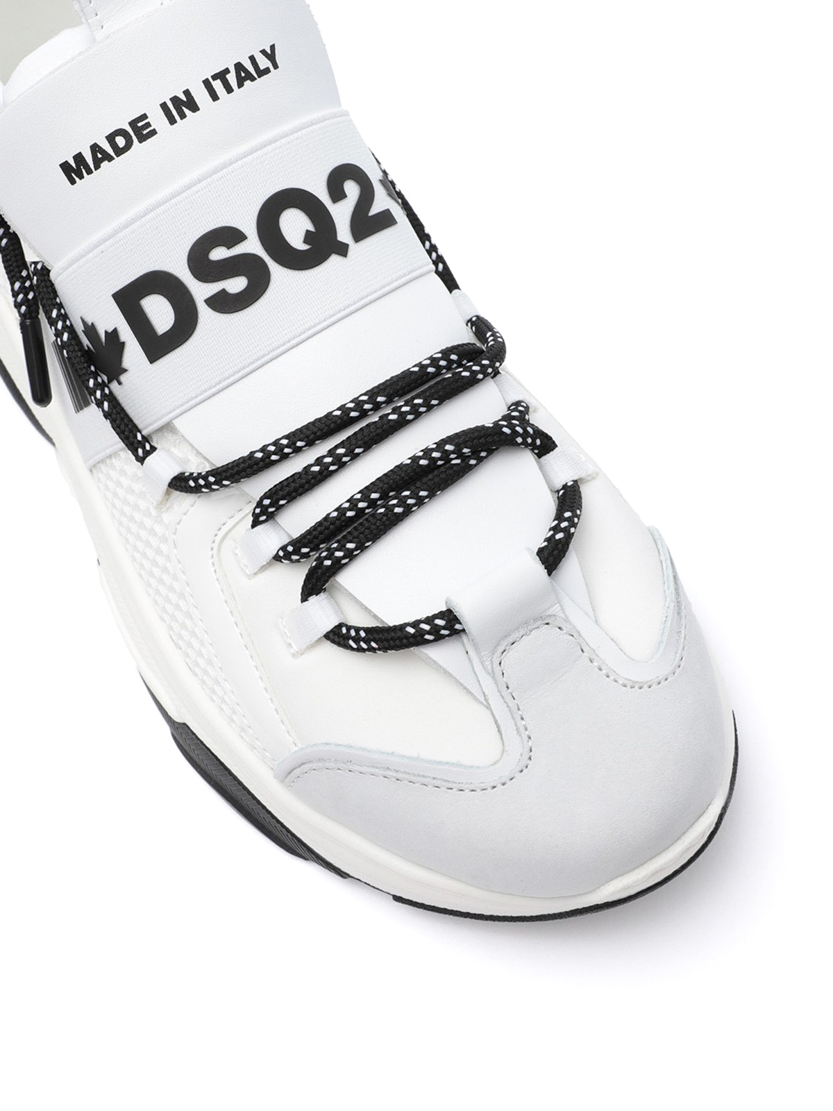Dsquared2 - D-Bumpy One white sneakers