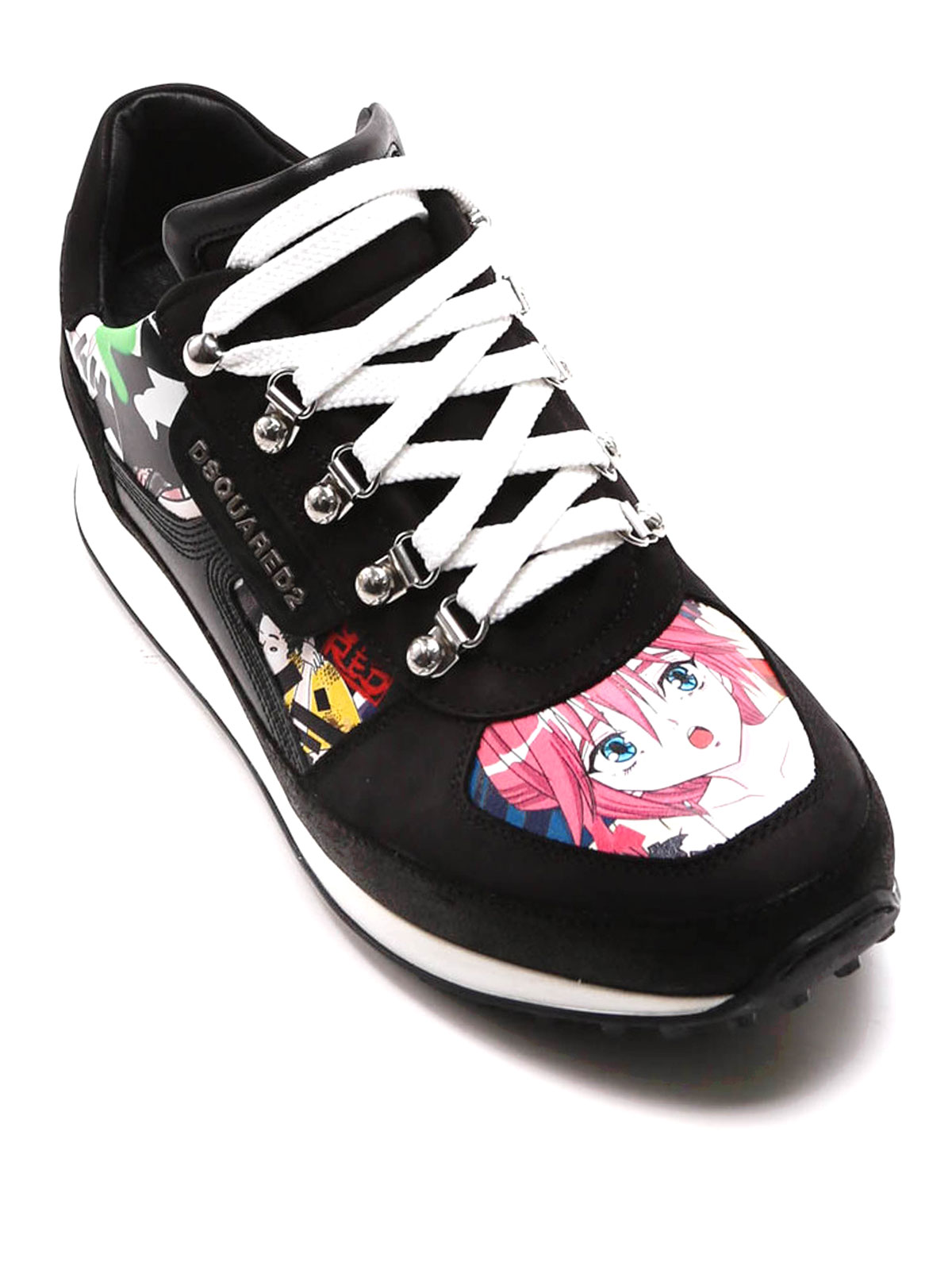Dean Goes Hiking manga sneakers by Dsquared2 - trainers ...