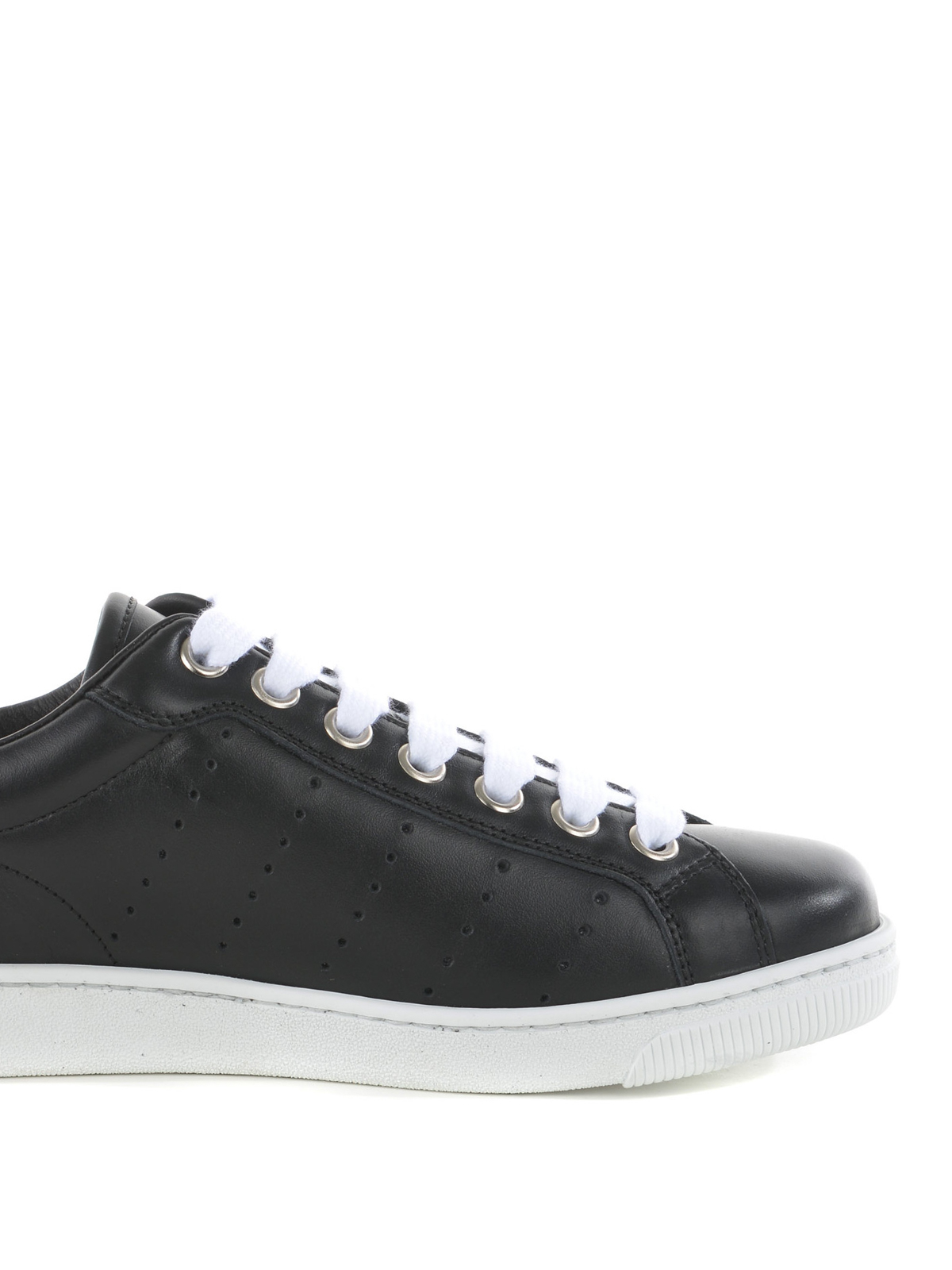 Dsquared2Leather Low Trainers eD16L65l