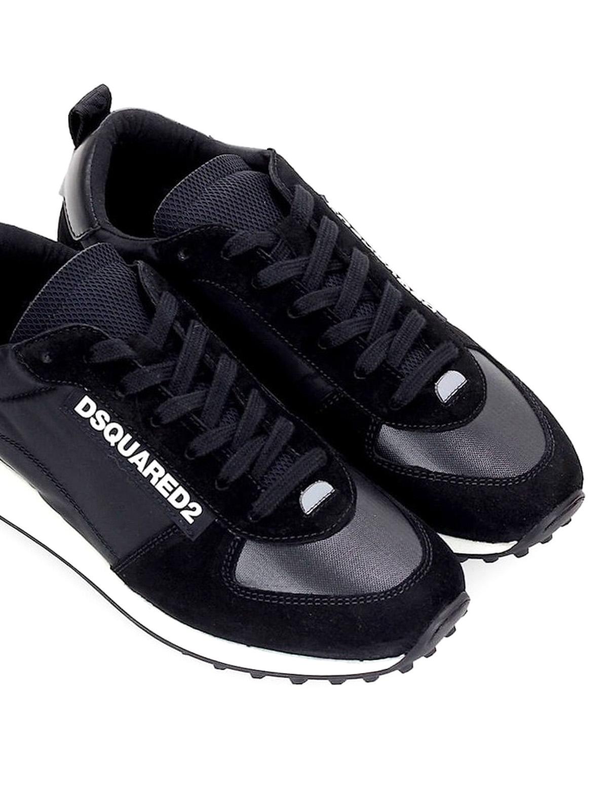 New Runner Hiking black sneakers