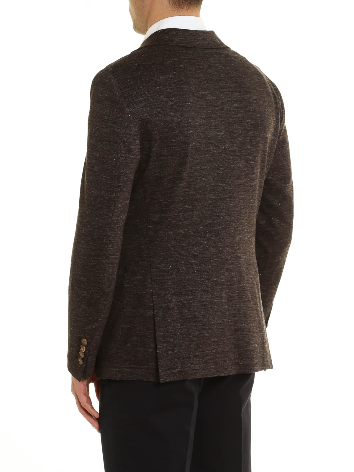 iKRIX ELEVENTY  giacche blazer - Giacca in lino misto cotone melange 81c1462a12c