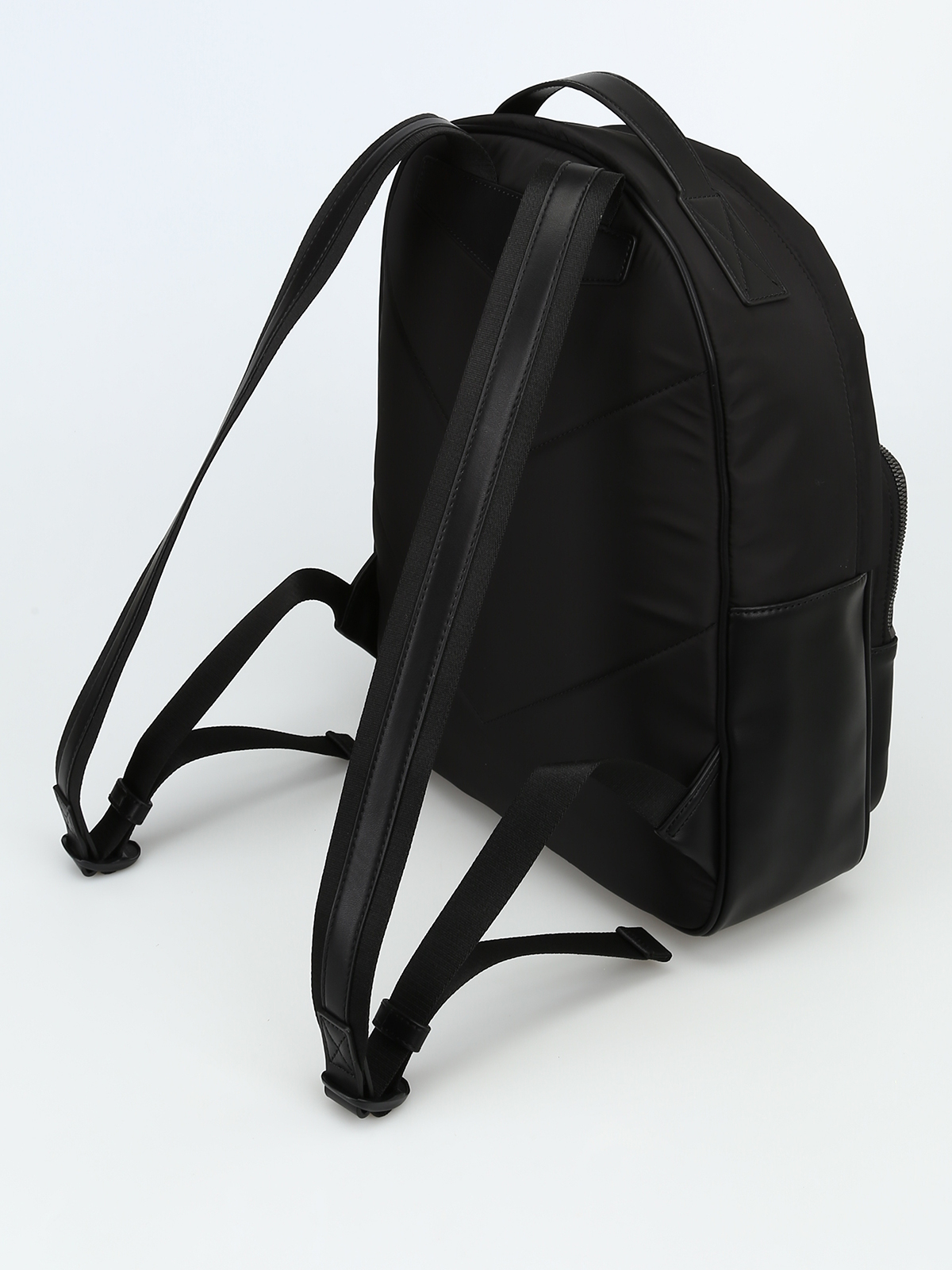 72c2d1a3f700 iKRIX EMPORIO ARMANI  backpacks - Technical fabric and faux leather backpack