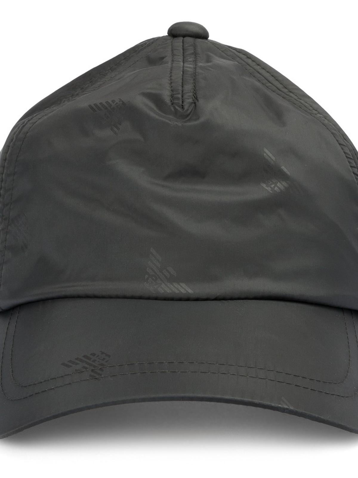 iKRIX EMPORIO ARMANI  hats   caps - Logo print nylon baseball cap d7c5d83d8c6