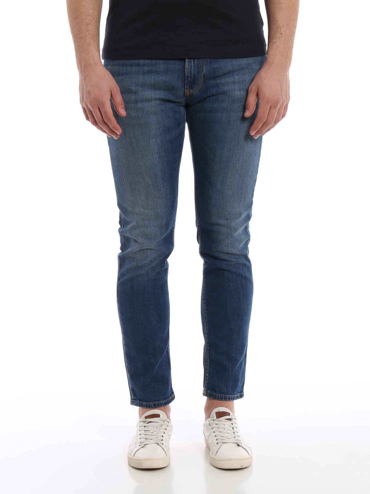 54f7628d84da iKRIX EMPORIO ARMANI  straight leg jeans - Slim fit five pocket denim jeans