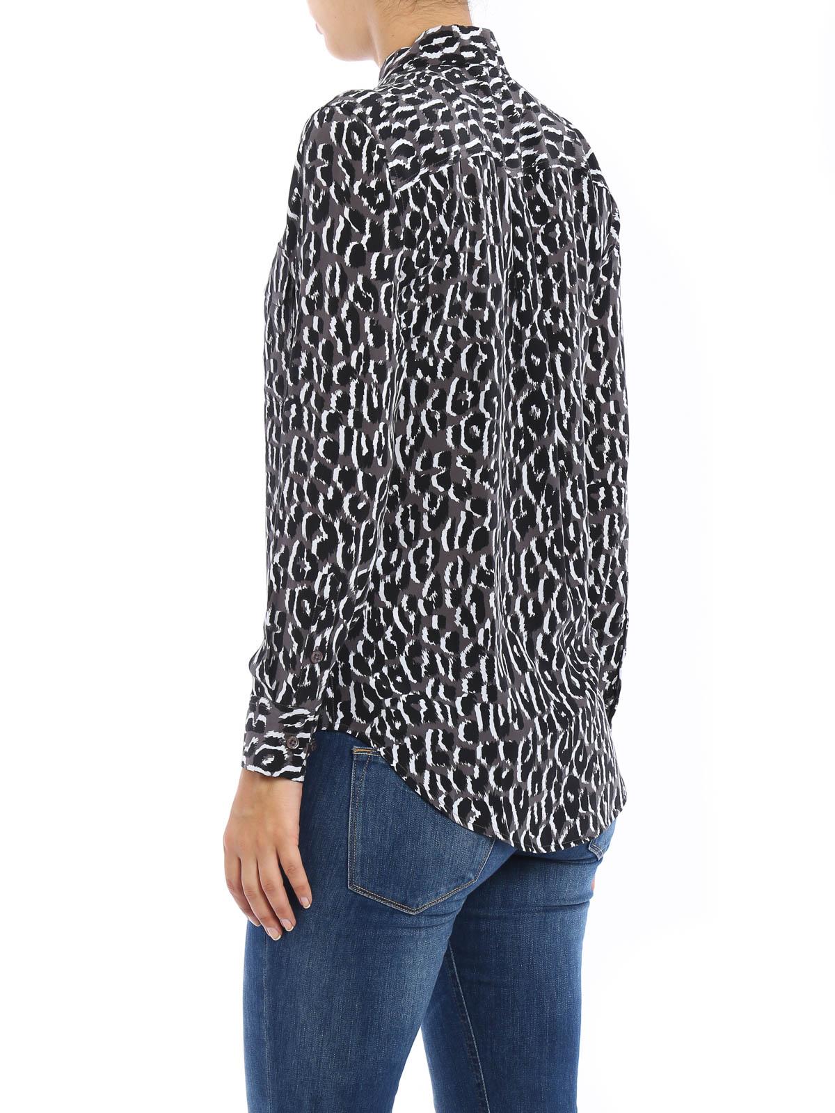 3a471b643 Equipment - Camisa Gris Para Mujer - Camisas - Q2397 E231