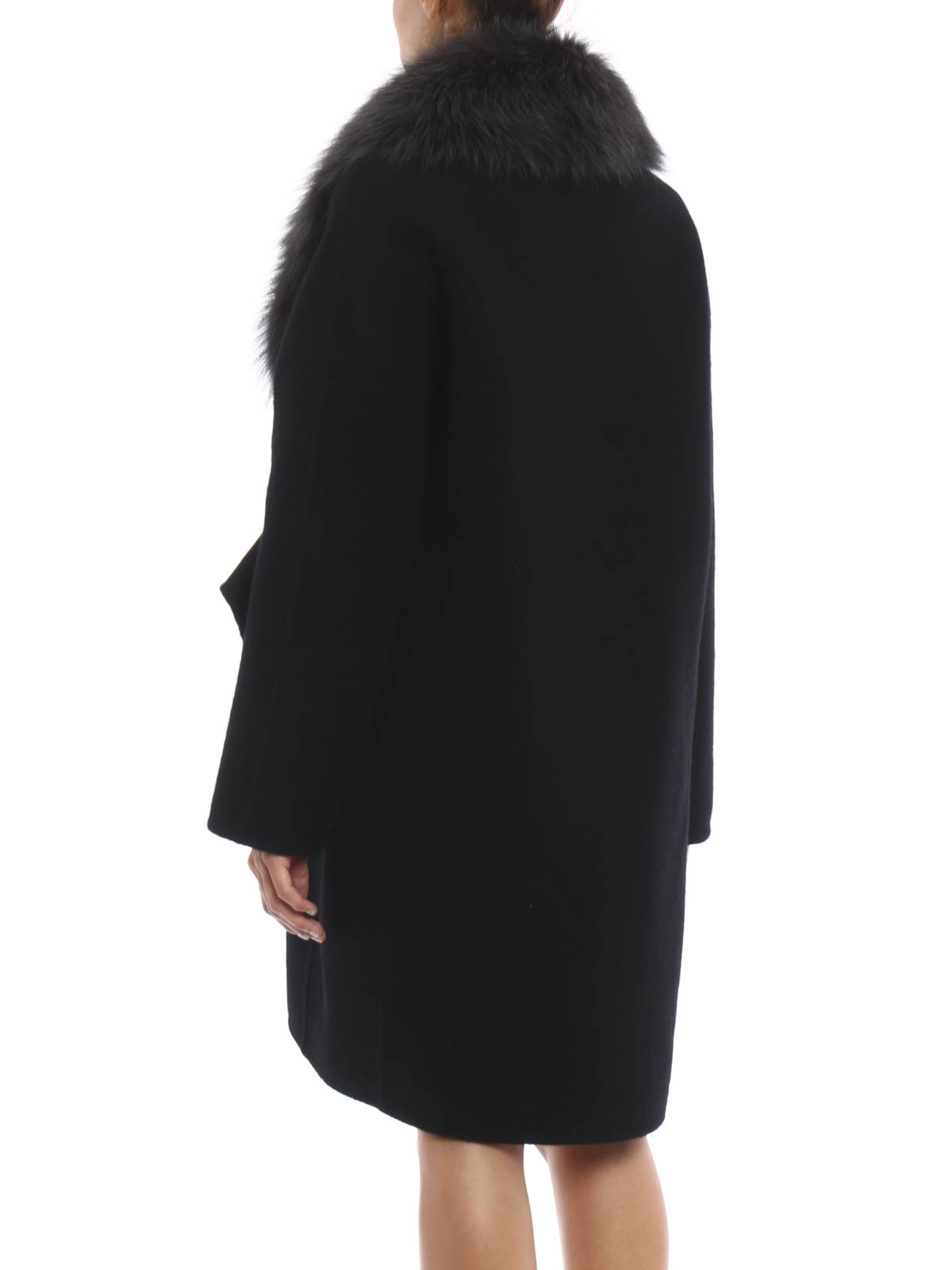 e421e7f8bf Ermanno Scervino - Wool and mohair classy coat - Fur & Shearling ...