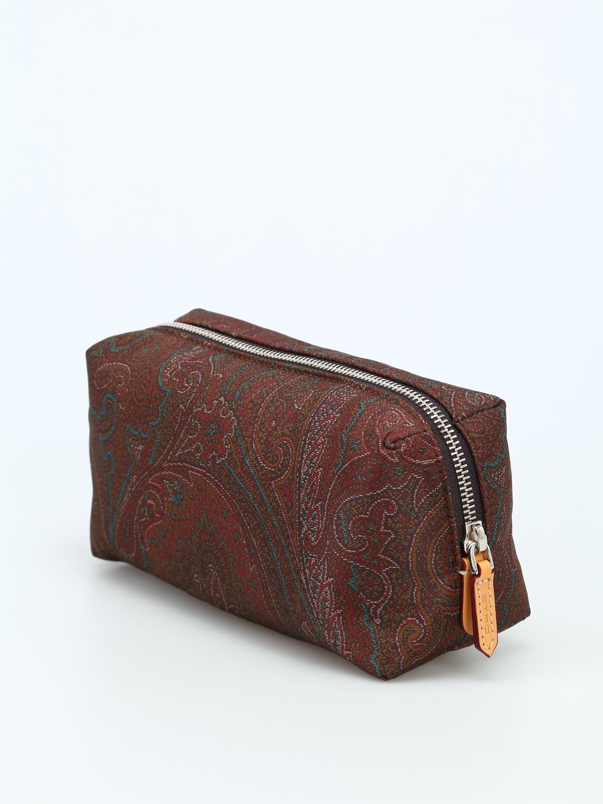 sale retailer 2bc1f 5d6bb Etro - Paisley print nylon small beauty case - Cases ...
