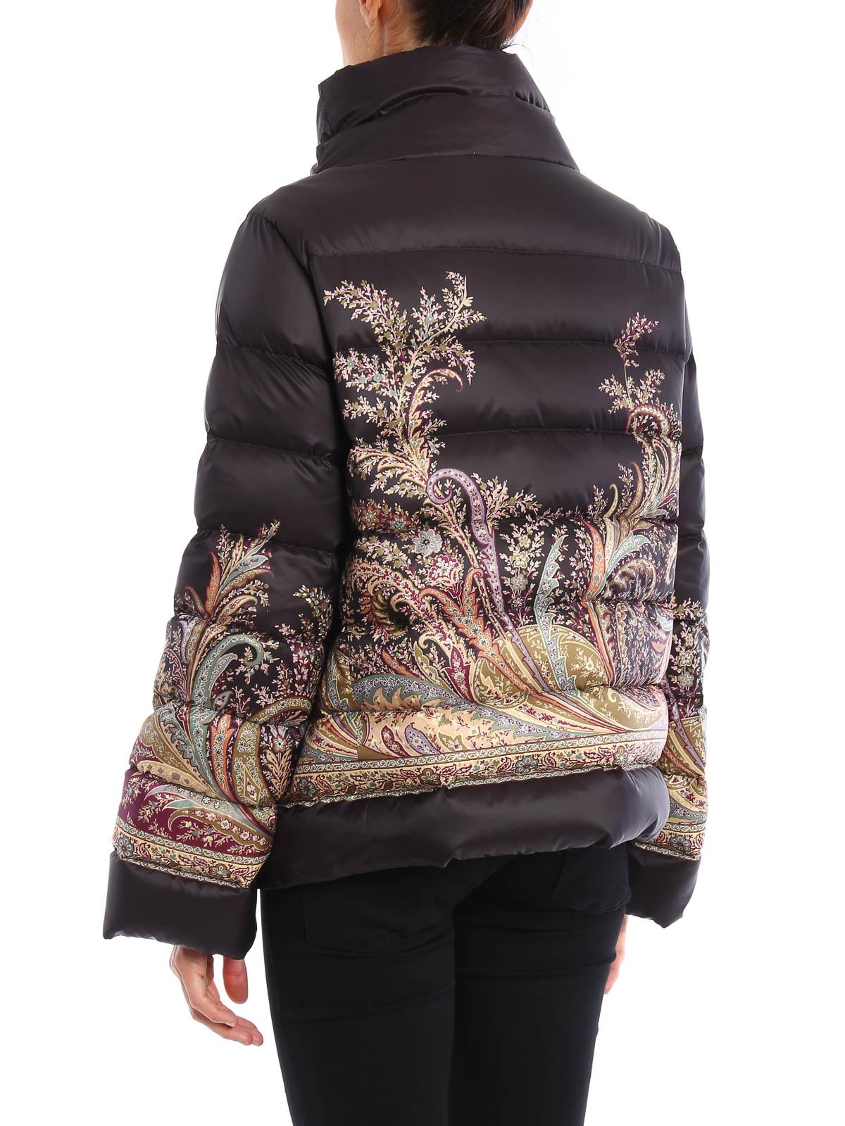 best service 7b938 895a5 Etro - Piumino crop stampato - giacche imbottite - 18162 9138 1