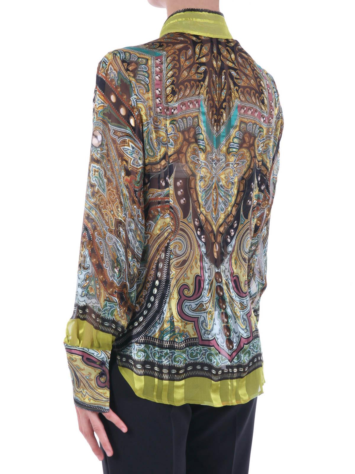 Camisa mujer Etro | Camisa Etro Mujer Fantasía | Camisa Etro