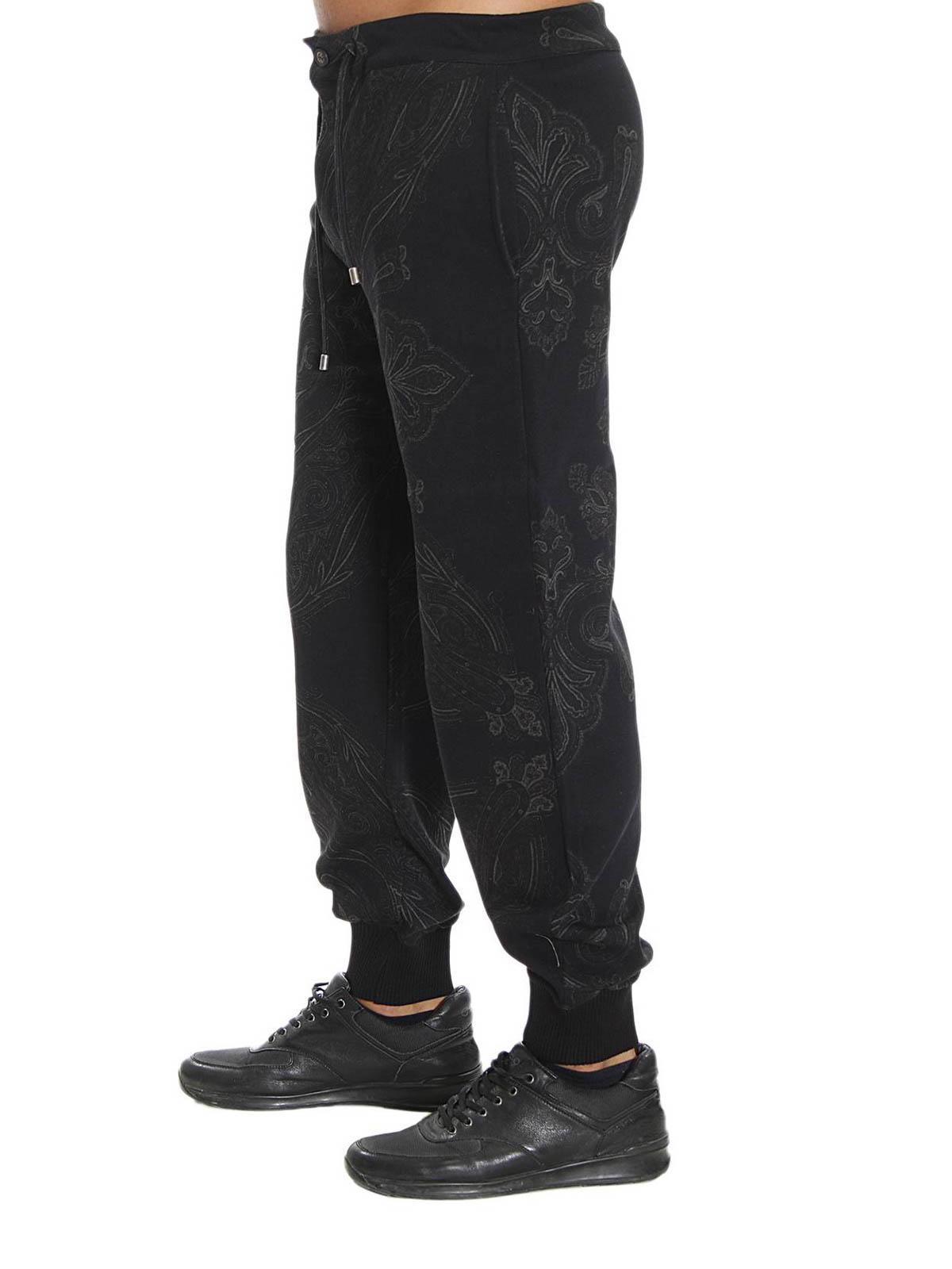 Stampa Etro Sport 5513 Pantaloni Tuta Paisley 1y098 m8nN0w