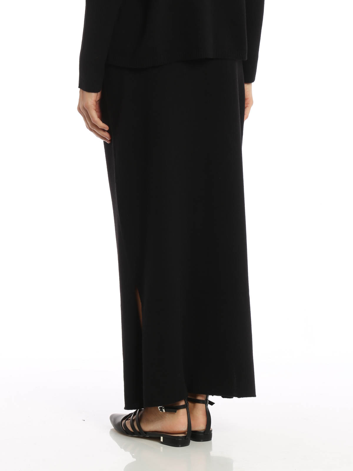 70107ce73458ba iKRIX FABIANA FILIPPI: Long skirts - Merino silk and cashmere skirt