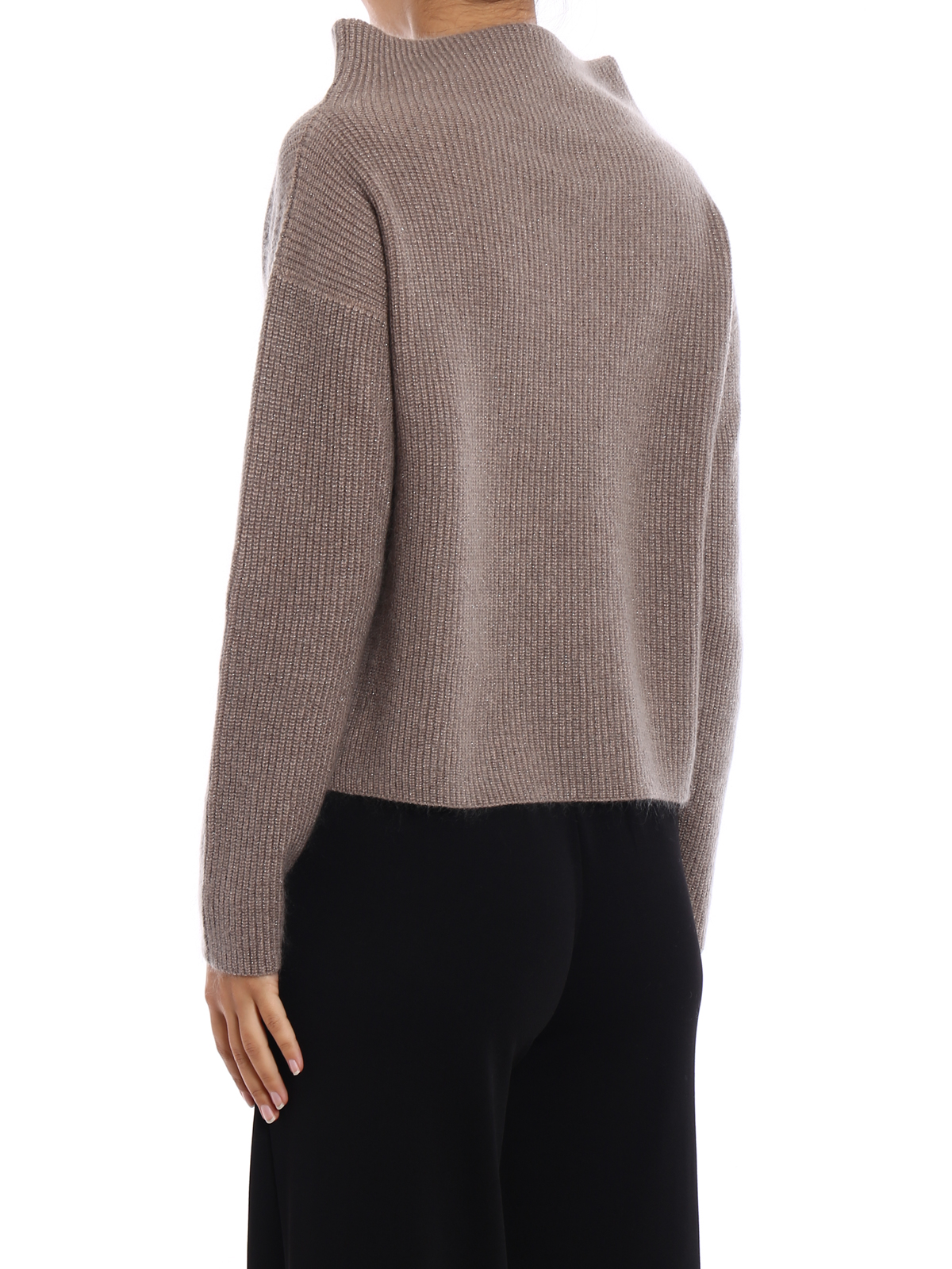 iKRIX FABIANA FILIPPI: Turtlenecks \u0026 Polo necks - Merino wool boxy  turtleneck