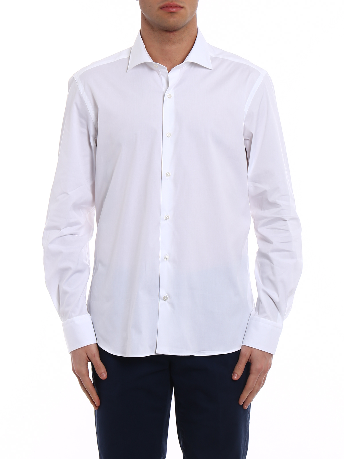 classic shirt - White Fay Discount Original New Styles For Sale Low Price Sale Online Cheap Sale Find Great Free Shipping Lowest Price PUHC2Fle