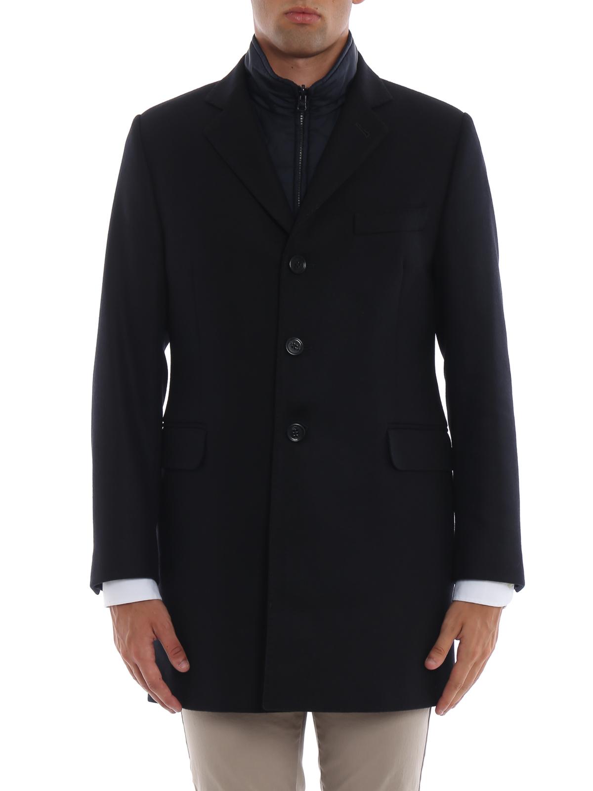 iKRIX FAY  cappotti corti - Cappotto dritto con gilet interno imbottito eb745603349