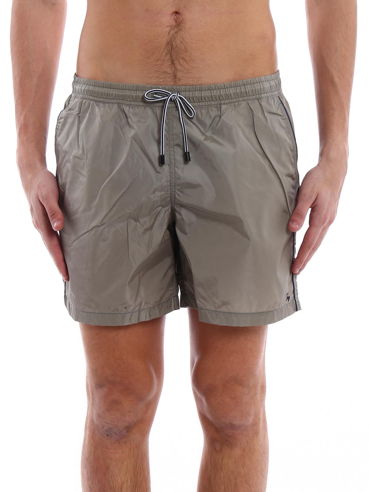 finest selection acbfb a9aef Fay - Boxer da mare in nylon con logo - Costumi piscina e ...