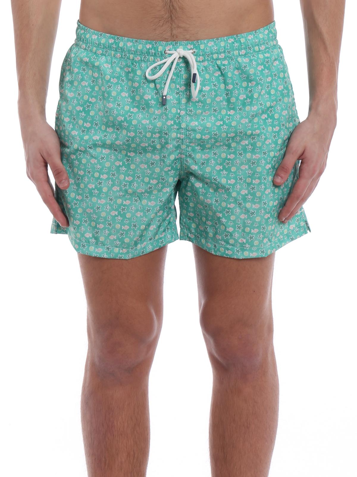 Fedeli costume da bagno spiaggia verde costumi piscina e boxer 1ue00318b051811 - Costumi da piscina ...