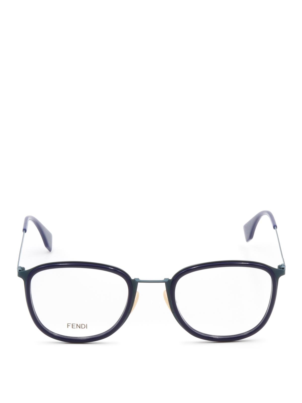 Slender frame eyeglasses by Fendi - glasses | Shop online at iKRIX ...