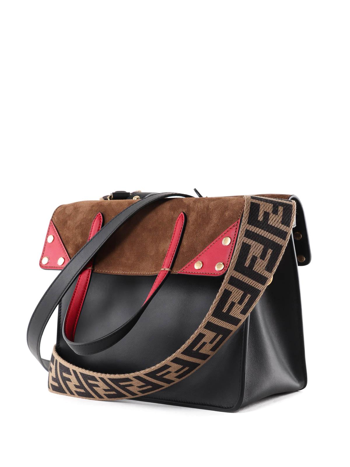 cdaf4931ac7c iKRIX FENDI  shoulder bags - Flip Regular leather and suede bag
