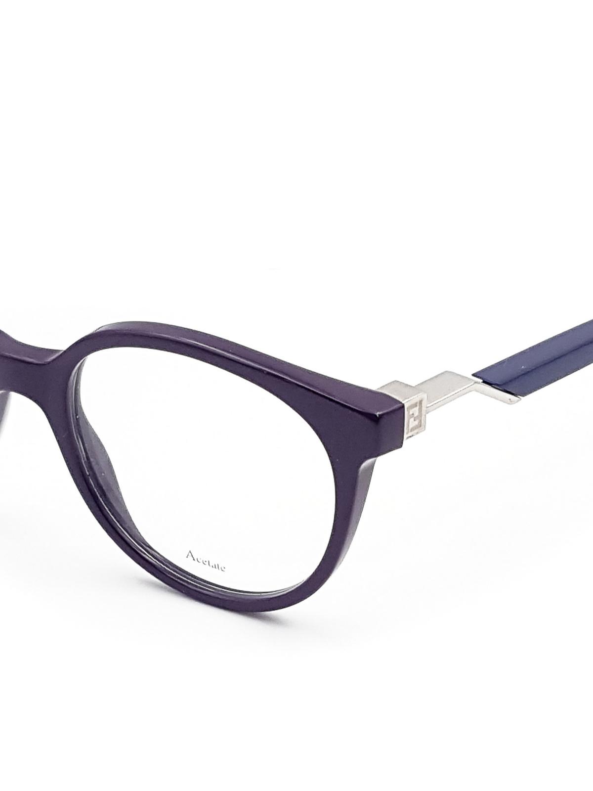2e2705b9e0bb3 Fendi Cat Eye Sunglasses Purple
