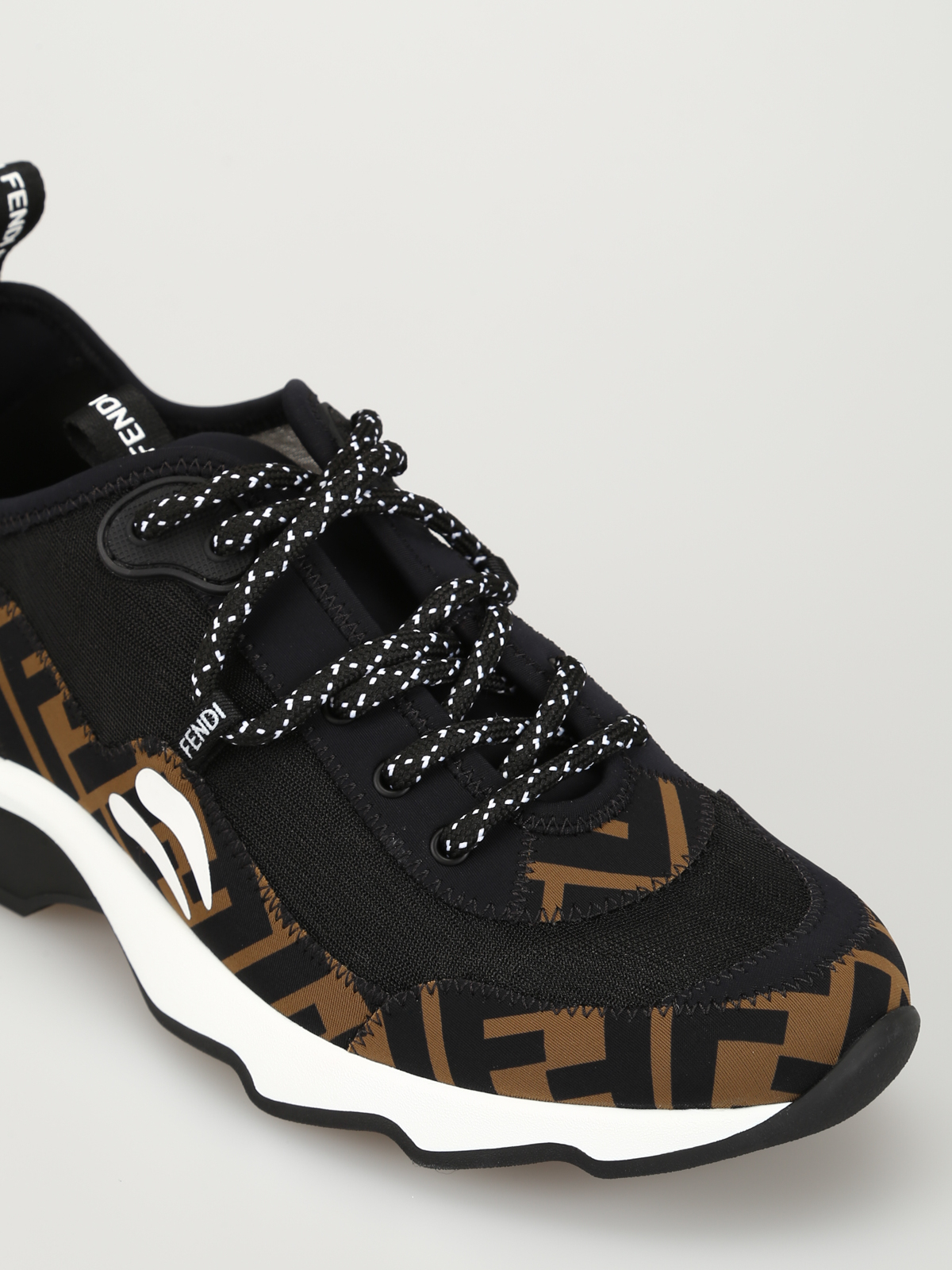 Fendi - Double F lace-up sneakers