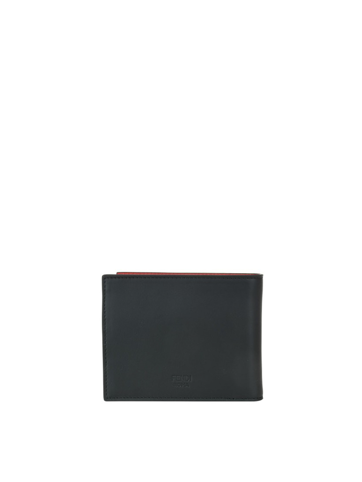 37676e223a iKRIX FENDI: wallets & purses - Bag Bugs leather bi-fold wallet