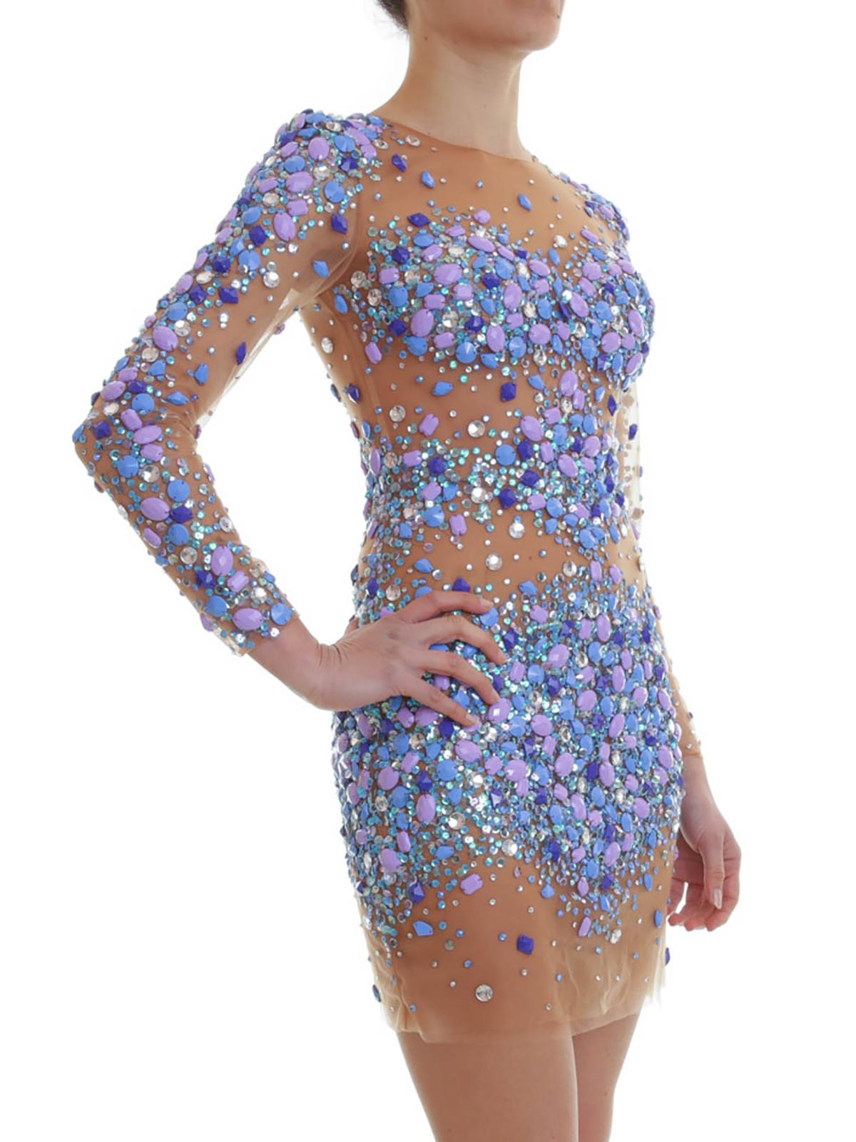 Forever Unique - Calli dress - evening dresses - 12BLUE  iKRIX.com