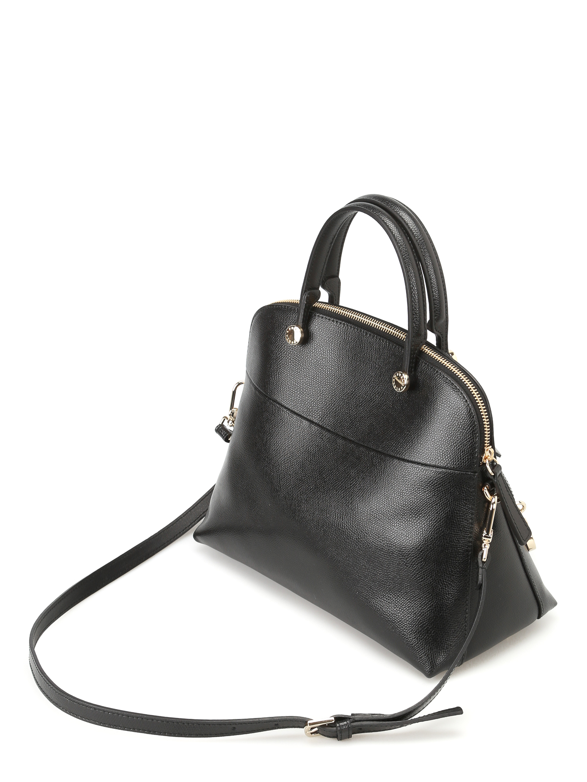 Furla Ares print leather Piper tote LPDXKY