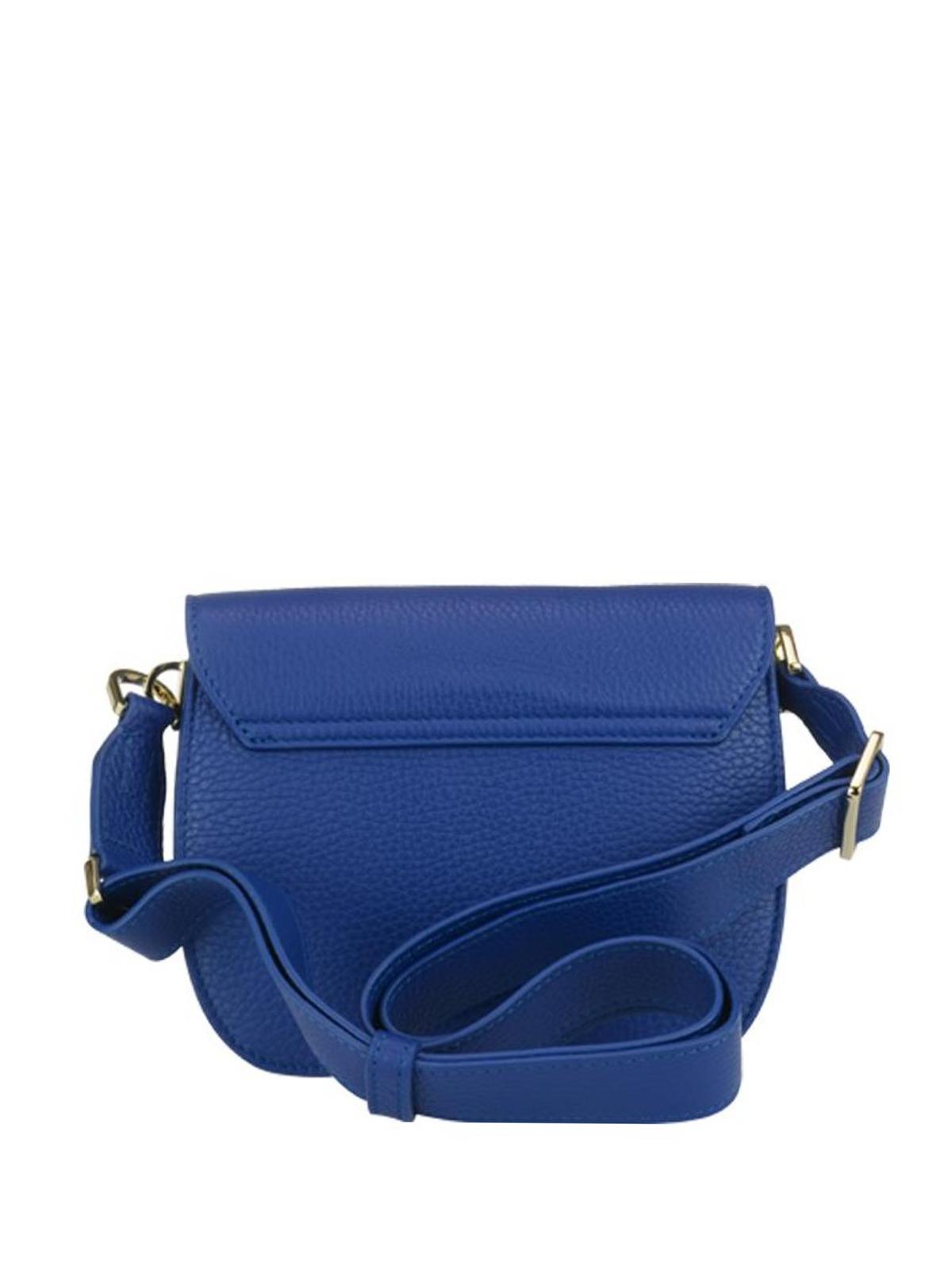 70a26db7ba Ducale Furla in a Mini pelle tracolla borse blu 941440 tracolla qqr6xE