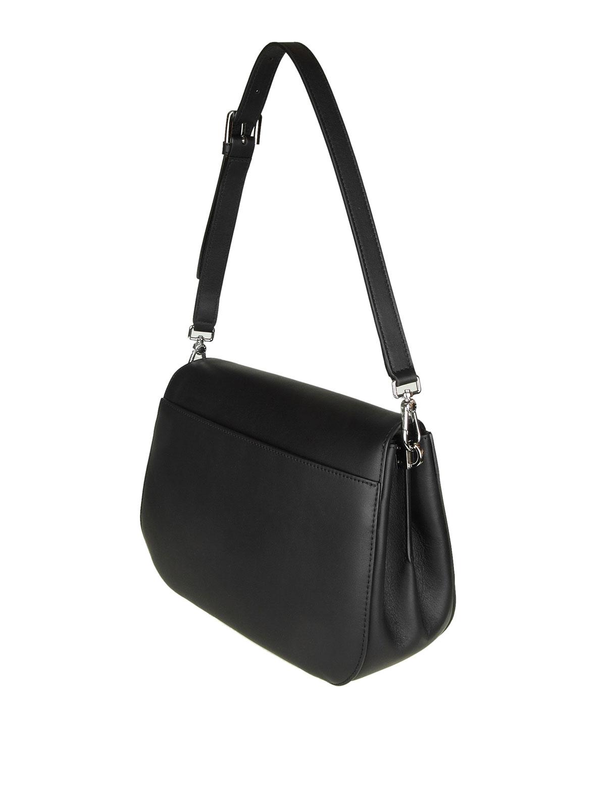 c87d0cac8c iKRIX FURLA  shoulder bags - Small Margherita black leather shoulder bag
