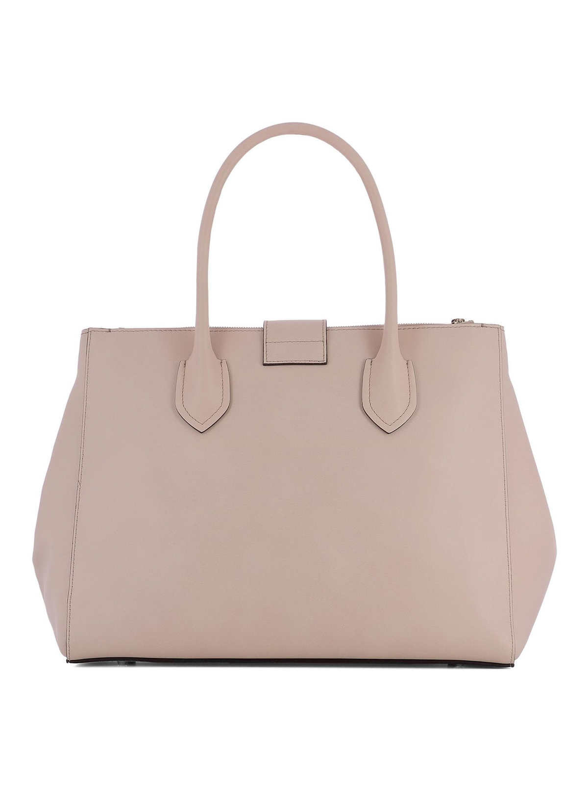 Furla Metropolis L light pink leather bag cpKUC
