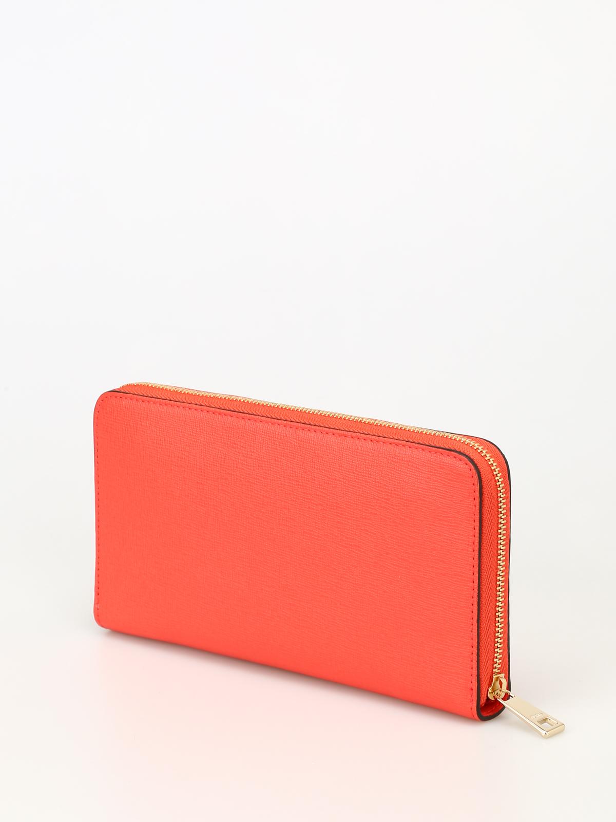 24702f6f40 Furla - Portafoglio rosso Babylon XL - portafogli - 942774 MANGO