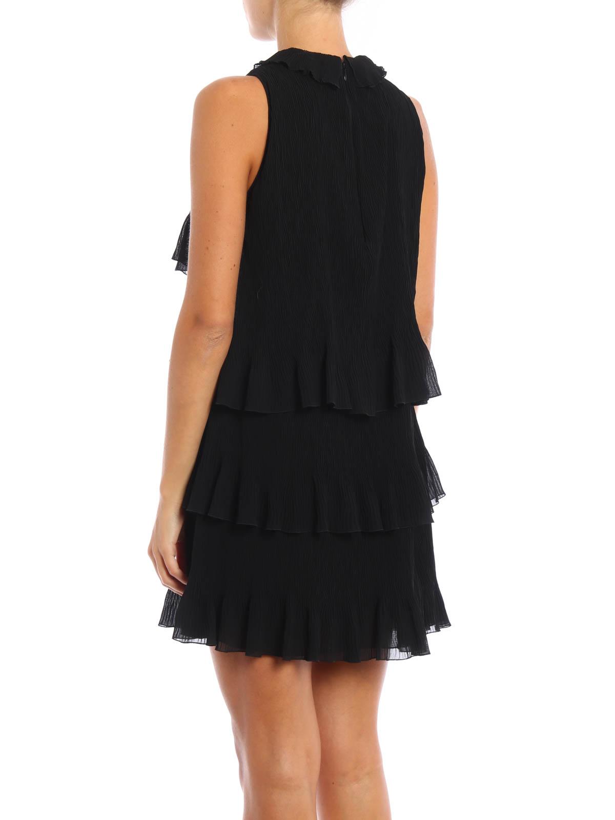 best authentic a007a ccd13 Giamba - Mini abito plissettato con balze - abiti corti ...