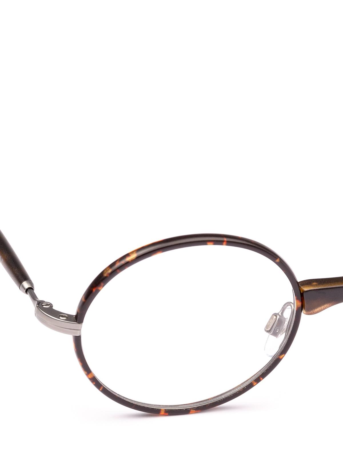 22f93d0b8842 iKRIX GIORGIO ARMANI: Glasses - Havana slender frame oval eyeglasses