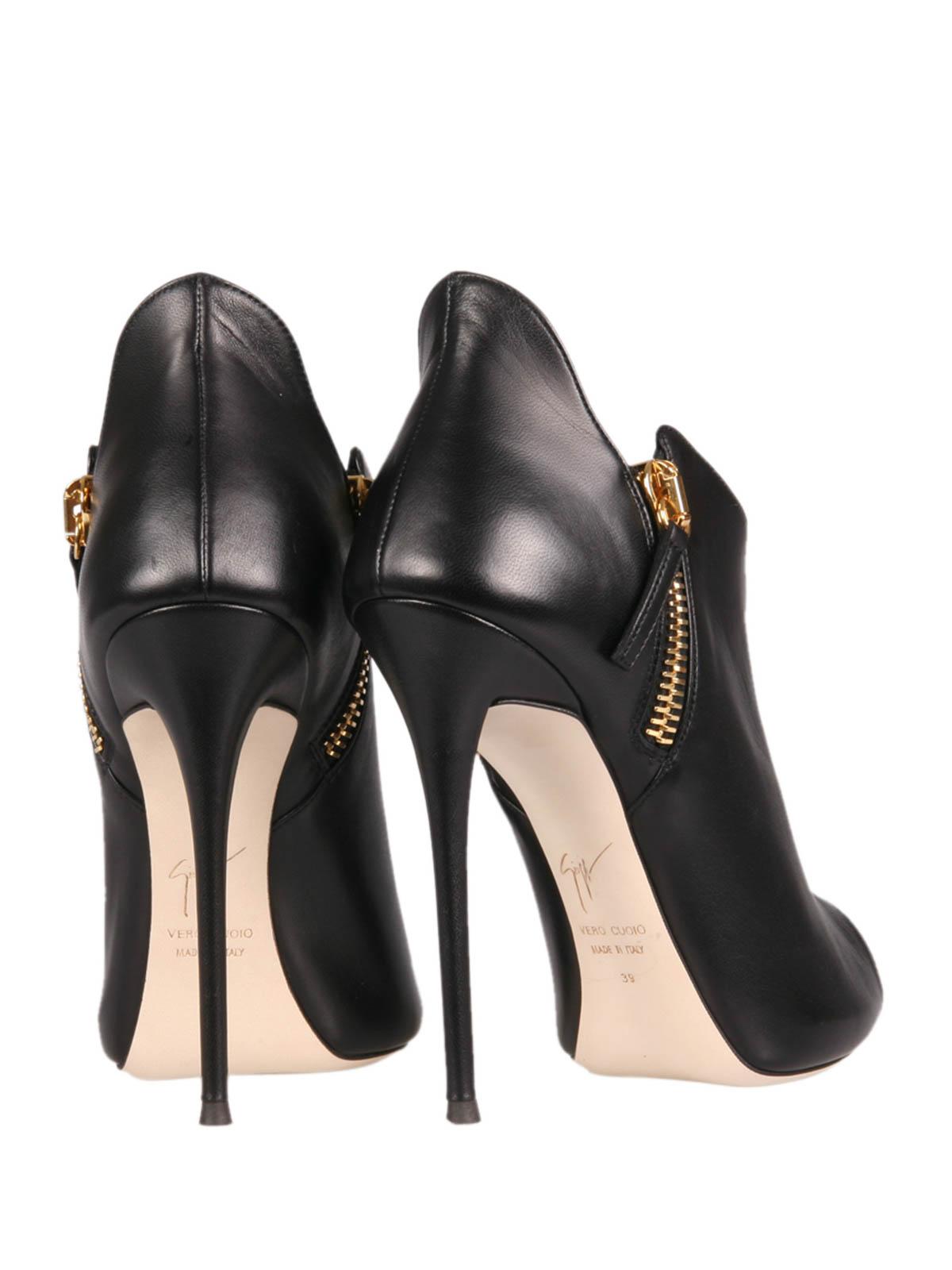 Malika peep toe ankle boots