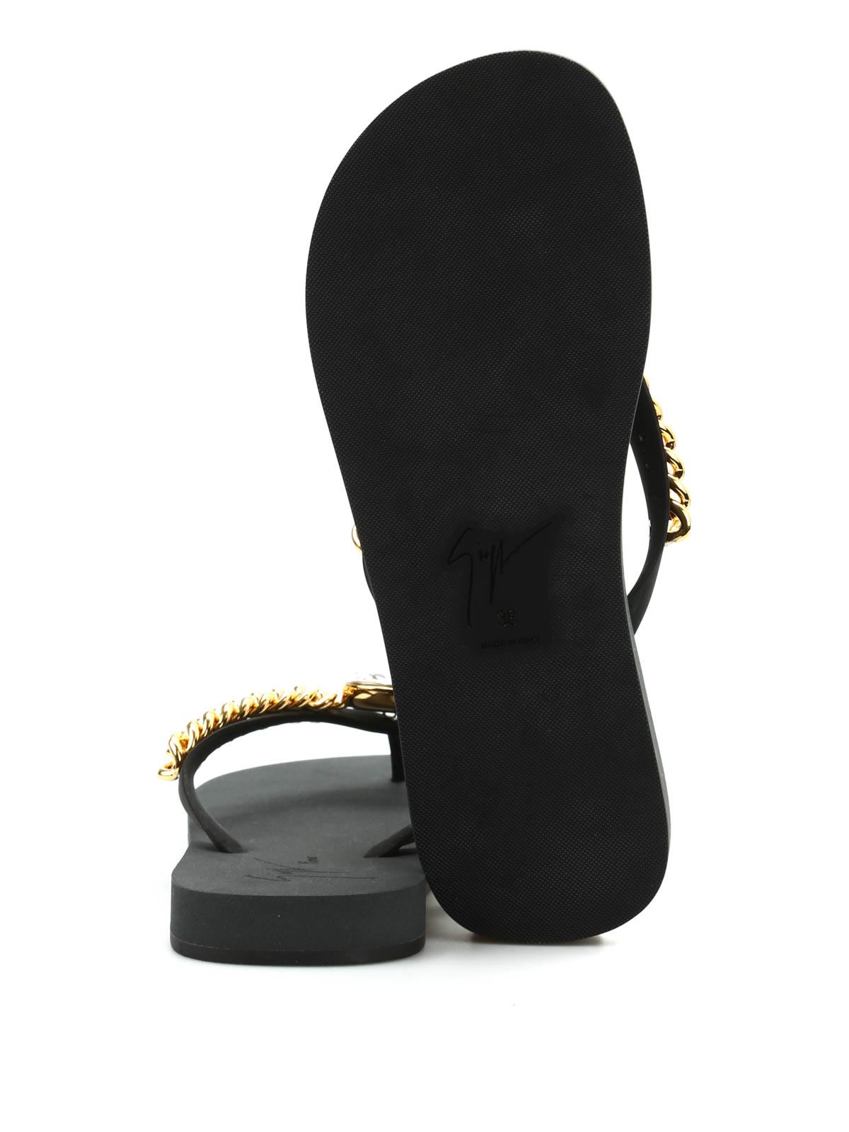 a2eb2355d392 iKRIX GIUSEPPE ZANOTTI  flip flops - Miami Beach rhinestone flip flops