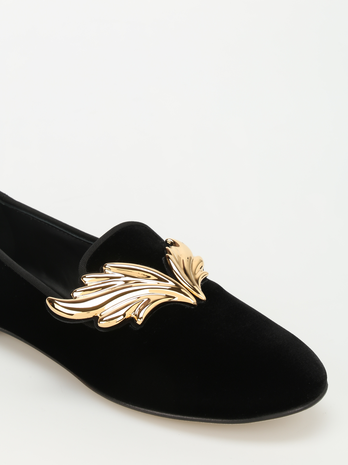 Read more Black Velvet Dalila Loafers