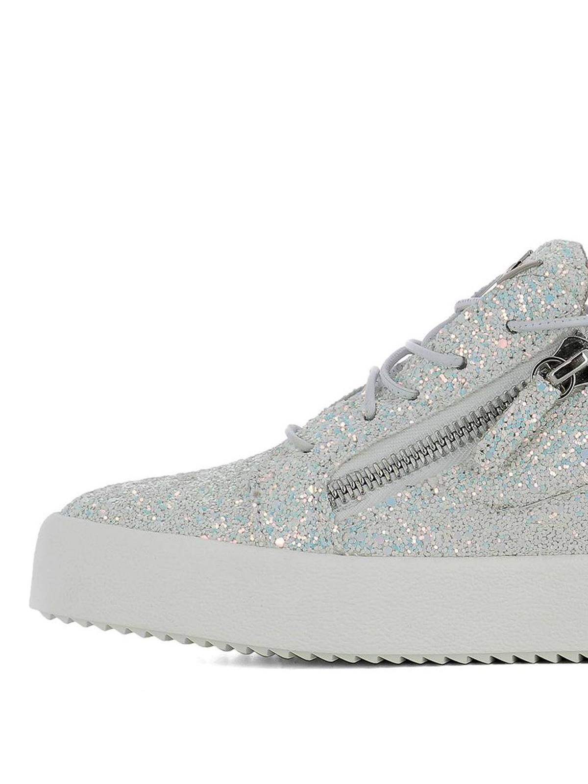 37785ad81 iKRIX GIUSEPPE ZANOTTI: trainers - Cheryl Glitter fabric sneakers