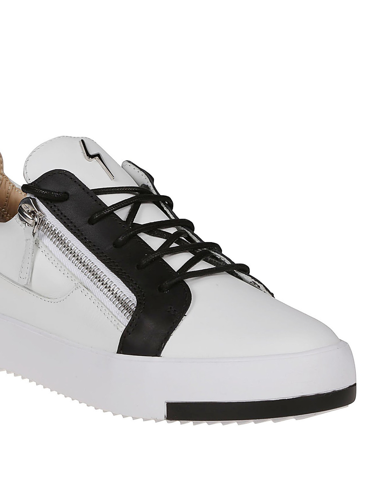 7aa13a4d188fb iKRIX GIUSEPPE ZANOTTI: trainers - Frankie colour block leather sneakers