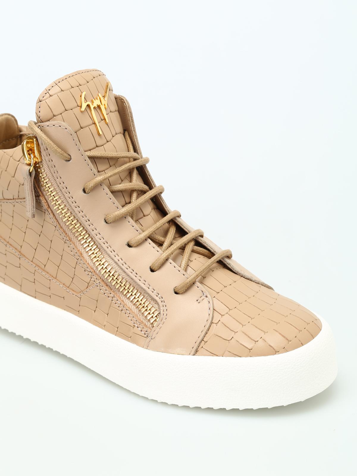 783f5e9d73d06 iKRIX GIUSEPPE ZANOTTI: trainers - May London croco print sneakers