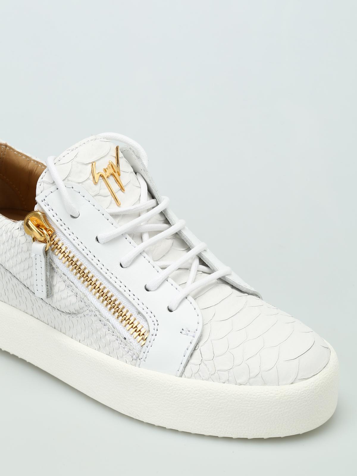 0723490da1422 iKRIX GIUSEPPE ZANOTTI: trainers - May London printed leather sneakers