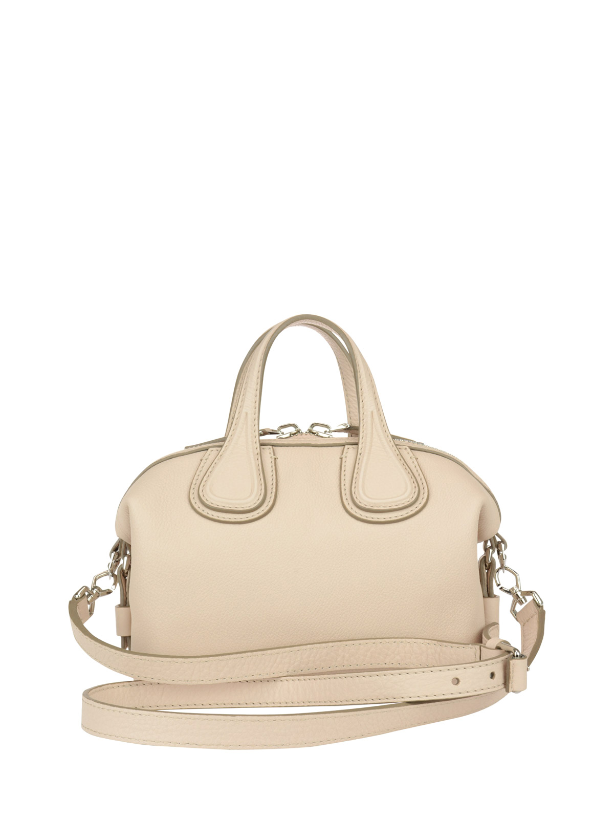 747857179c4c Givenchy - Micro Nightingale leather bag - bowling bags - BB05095025657