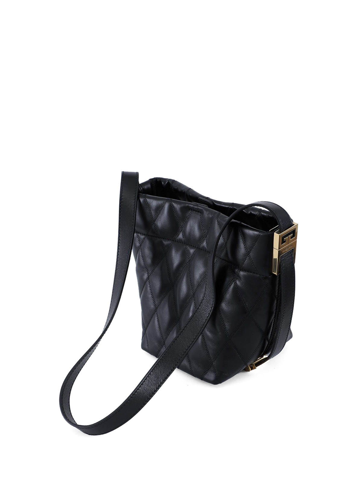 8de55212e7c iKRIX GIVENCHY: Bucket bags - GV quilted leather mini bucket bag