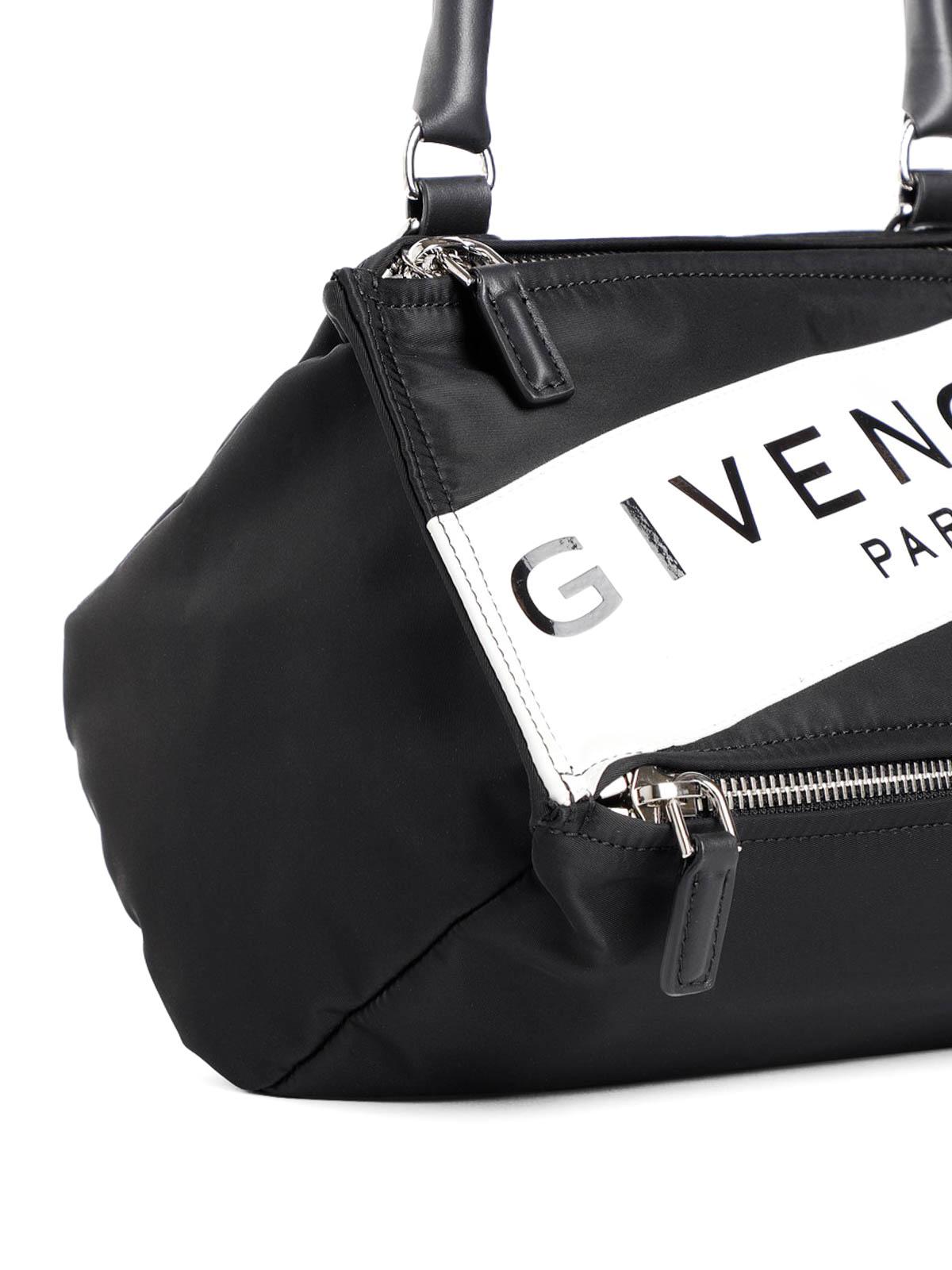 1a6c22e8644 iKRIX GIVENCHY: cross body bags - Small Pandora black nylon bag