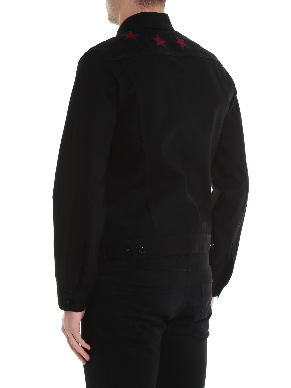 Denim Pour Jean Veste Noir Homme Givenchy En Vestes q0zwxf