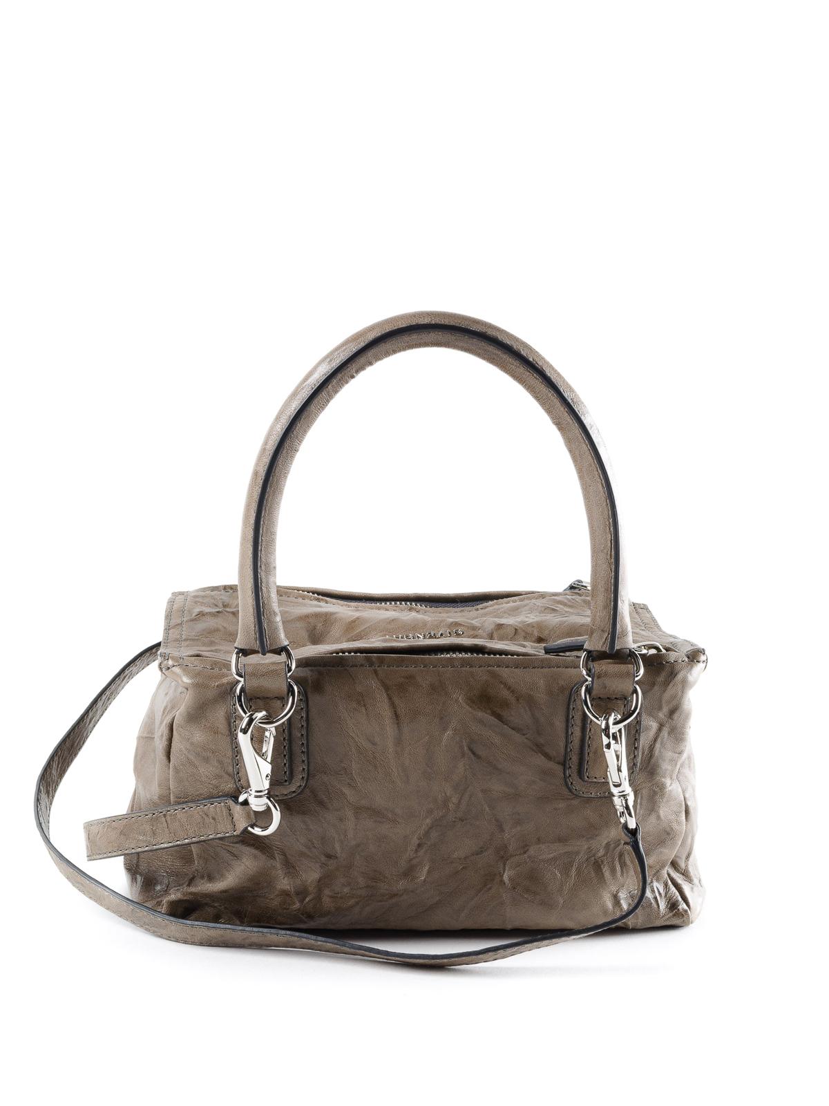 iKRIX GIVENCHY  shoulder bags - Small Pandora vintage leather bag dd57e049fc