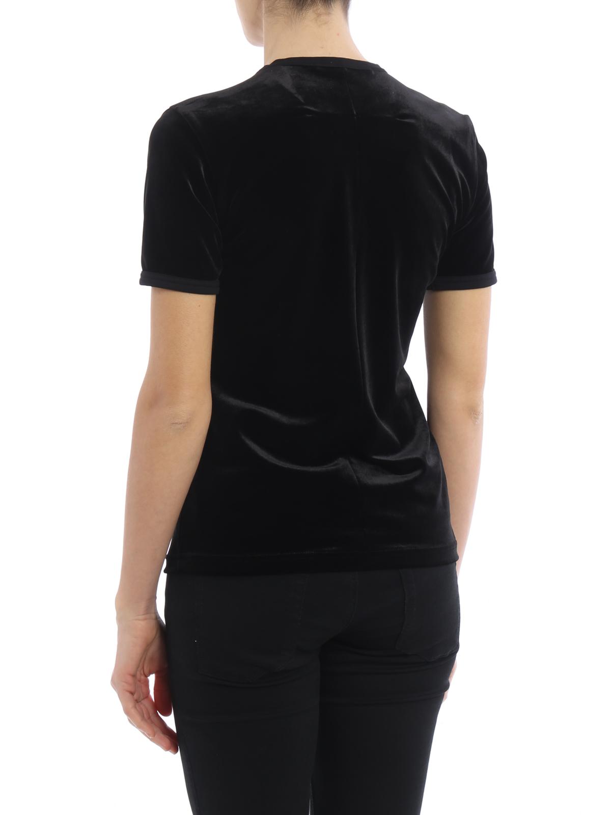 Flamingo print velvet t shirt by givenchy t shirts ikrix for Givenchy t shirts for sale